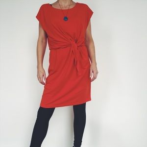 Brooklyn Industries red-orange dress Size M